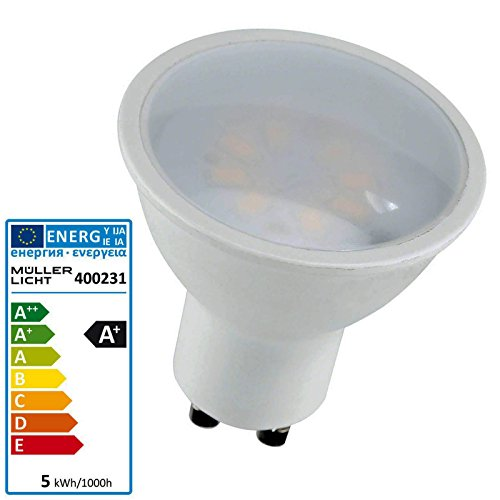 LED Reflektorlampe GU10 5 Watt 230 Volt 2700 Kelvin - Müller Licht