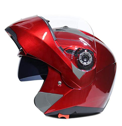 Casco moto adulto full face mountain road anti crash downhill flip up caschi motocross doppio obiettivo anti fog modular racing off road protezioni