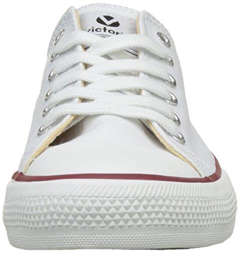 Victoria - Zapato Autoclave, Basse Unisex – Adulto Bianco (Blanco)