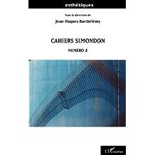 Cahiers Simondon - Numéro 2