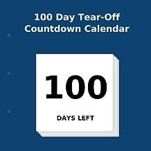 100 Day Tear-Off Countdown Calendar
