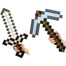 Minecraft Foam Sword & Pickaxe Combo Set Of 2 (accesorio de disfraz)