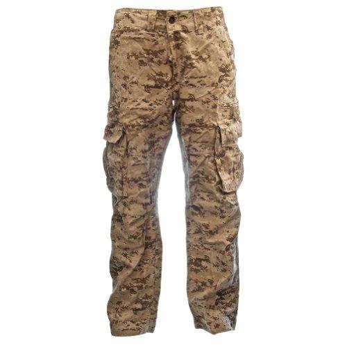 Sizeups Cargohose für Herren 52008 - 100% Baumwolle, Premium Qualität Armee-Kampf-Hosen Digitale Wüste Camo