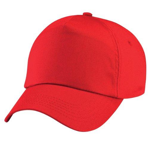 Beechfield - Casquette de Baseball 100% coton - Unisexe Gris - Gris graphite