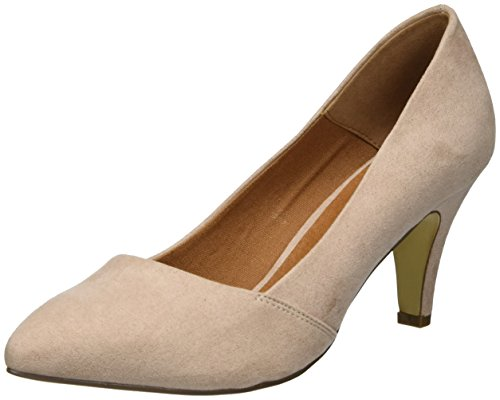 Bianco Damen Basic Loafer Pump 24-49217 Pumps, Beige (Powder), 38 EU