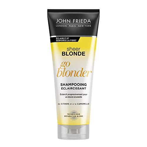 Scheda dettagliata John Frieda, Sheer Blonde Go Blonder, Shampoo schiarente, 250ml