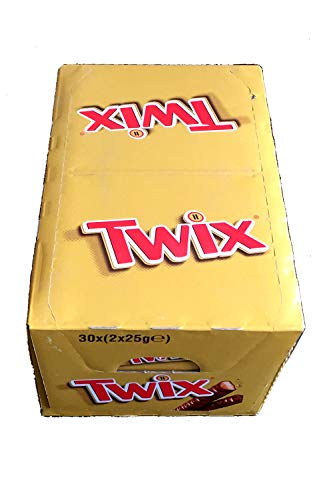 Twix Standard Twin Chocolate Bars 30 x ( 2 x 50g ) New Christmas Chocolates Gifts