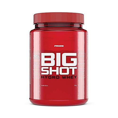 Prozis Big Shot - Hydro Whey 750 g Vanille (Verstärkt Protein Whey)