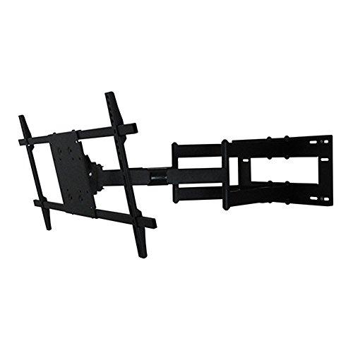 """DQ Reach XXL 91 cm TV Wandhalterung Schwarz - Originalverpackt - Empfohlene TV-Größe: 42"""" - 80"""" (107 - 203 cm) - VESA 200x200 300x300 400x200 400x300 400x400 600x200 600x400 800x400 Non-VESA mm - Vollbeweglich / Drehbar / Schwenkbar / Neigbar"""