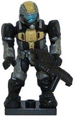 Mega Bloks HALO Gelb UNSC ODST Minifiguren & Waffen - Serie 4