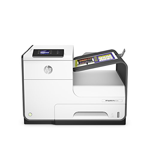 HP PageWide Pro 452dw (D3Q16B) Tintenstrahldrucker (Duplex, WiFi, Ethernet, ePrint, Airprint, Cloud Print, USB, 2400 x 1200 dpi) weiß (7 Zubehör Tablet Hp)