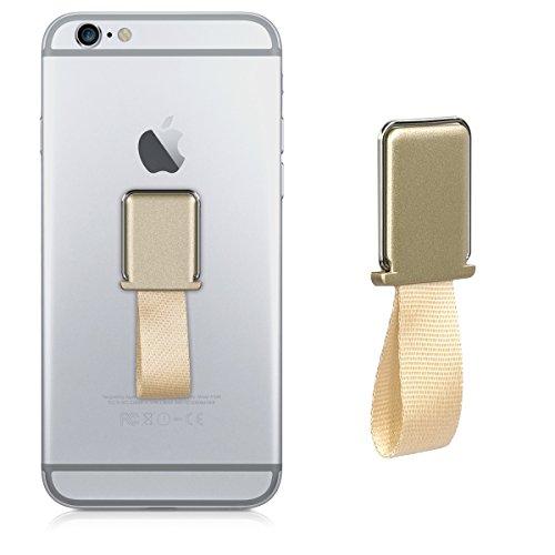 Pokemon-hülle Für Tablet (kwmobile Handy Fingerhalter für magnetische Autohalterungen - Smartphone Finger Halter Ständer - Fingerhalterung für u.a. iPhone Samsung Gold)