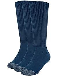 Galiva Calcetas extra suaves de algodón para niño, Calcetines Altos, Calcetines Hasta la Rodilla - 3 pares