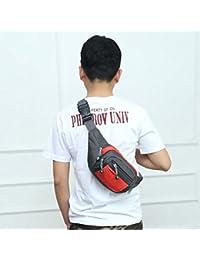 Fashion Multi-function Men Outdoor Sports Running Adjustable Breathable Waist Bag (Orange)