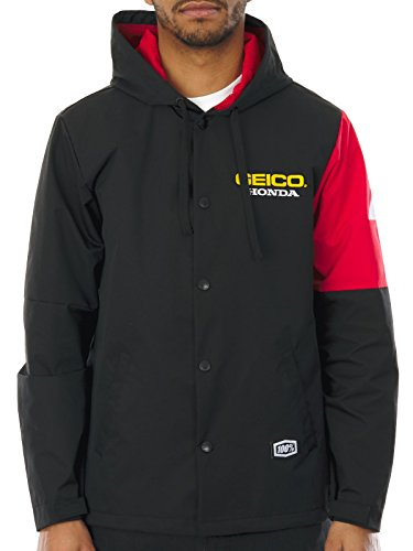 giacca-100-percent-honda-geico-flux-nero-m-nero