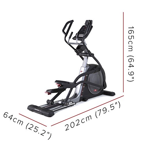 41qV oYBXUL. SS500  - PRO-FORM Proform Trainer 7.0 Elliptical Bike, Front Wheel, Compatible with Bluetooth App iFit Cardio, Motorised Tilt Ramp 0-20°, 20 Resistance Levels, 28 Programs, Sports Use, Fitness, Well-Being