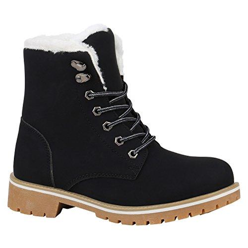 Bootsparadies - Stivali Donna Light Marron Blanc Noir