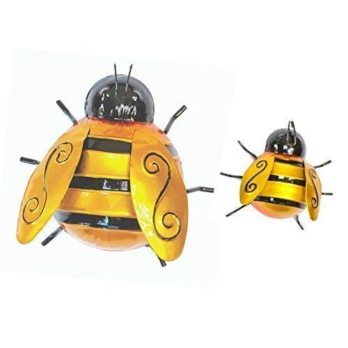 Fountasia Set of 2 Bumble Bee Garten Dekorationen