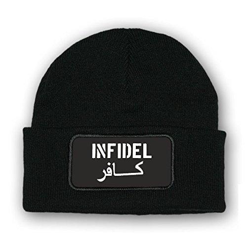 Mütze/Beenie - Infidel Ungläubiger Crusader Kreuzritter Soldaten Winter US Army...
