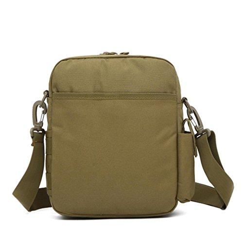 F@Outdoor sport impermeabile Messenger bag, borsa a tracolla, cavallo casual può essere dotata di bollitore, camouflage borse, sacchi da campeggio , three camouflage city number