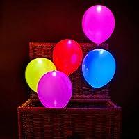 Globos Led, colores, luz, parpadeante, 50 unidades ENTREGA 1-3 DÍAS