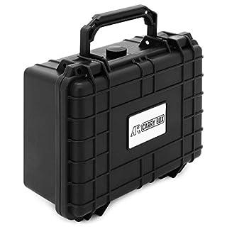 AR CARRY BOX Outdoor Koffer Schutzkoffer Kunststoff-Koffer Schwarz Würfelschaum staub- & wasserdicht