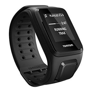 Tomtom Spark Music - Montre Fitness GPS - Bracelet Large Noir (ref 1REM.003.01