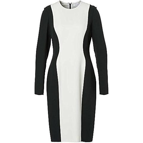 Christian Dior Vestido business con seda Mujer