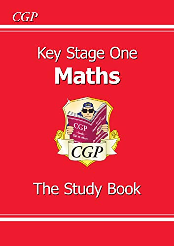 KS1 Maths Study Book: Study Book Pt. 1 & 2 (Revision Guide)