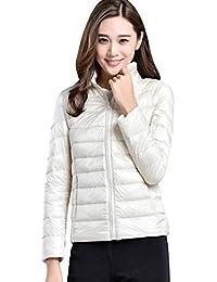 wholesale dealer 96642 45200 Leggero Piumino Amazon Donna Donna it Abbigliamento Bianco ...