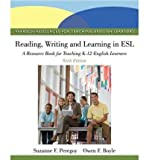 [(Reading, Writing, and Learning in ESL: A Resource Book for Teaching K-12 English Learners)] [Author: Suzanne F. Peregoy] published on (May, 2012)