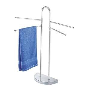 Wenko Porte serviettes et vêtements peu encombrant pour salle de bain