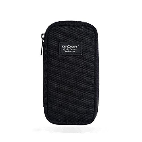 K&F Concept Custodia Pochette Porta Filtri Lenti Obiettivo per Reflex e Fotocamere DSLR