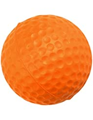 Balle de Golf pour Formation de Golf Souple en Mousse PU Balle de Pratique - Orange