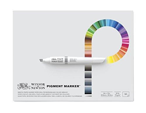 """Winsor & Newton Pigment Marker Pad, 9\"""" x 12\"""""""