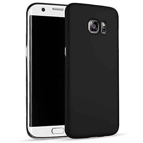 Coque Samsung Galaxy S6 Edge Noir - Coque Samsung Galaxy S6 Edge Plus,CaseFashion Luxueux