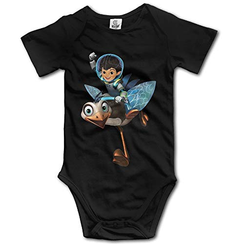 Proud Clothing Miles from Tomorrowland Baby Girls/Boys Short Sleeve Bodysuit 6 Months Snap Cookie Cutters