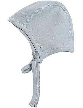Wheat Unisex Baby Häubchen Mütze mit Merinowolle