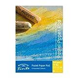 Winsor & Newton 6660762 Pastelltönungen Papier, 24 Blatt - 6 Farben, 160 g/m², DIN A3