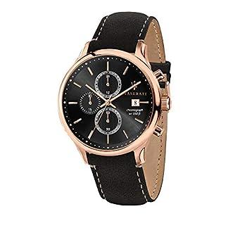 Reloj para Hombre, Colección Gentleman, con Movimiento de Cuarzo y función cronógrafo, en Acero, pvd Oro Rosa y Cuero Natural – R8871636003