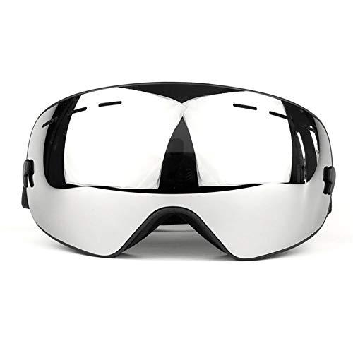 ZKAMUYLC SonnenbrilleSkibrille Erwachsene Doppel Anti-Fog UV-Schutz Große Sphärische Skibrille Ausrüstung Einzel- und Doppelbrett Geeignet für Kurze