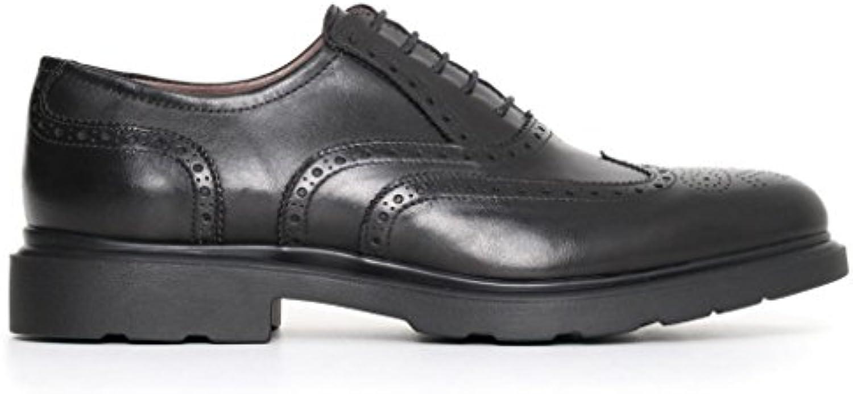 Nero Giardini uomo inglesine nere A705283U scarpe in pelle inverno 2018, eu 41   Conosciuto per la sua eccellente qualità    Uomo/Donne Scarpa