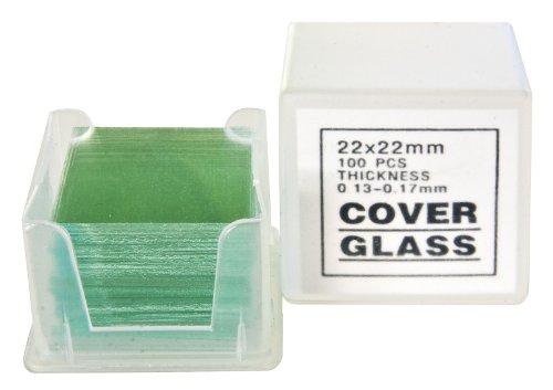 Bresser Mikroskop Deckgläser (100x)