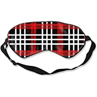 Eyes Mask Comfort Popular Checkered Silk Mask Contoured Eye Masks for Sleeping,Shift Work,Naps preisvergleich bei billige-tabletten.eu