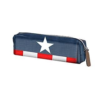 Karactermania Los Vengadores Capt America Estuches, 22 cm, Azul