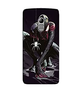 Citydreamz Spiderman Hard Polycarbonate Designer Back Case Cover For Lenovo K4 Note
