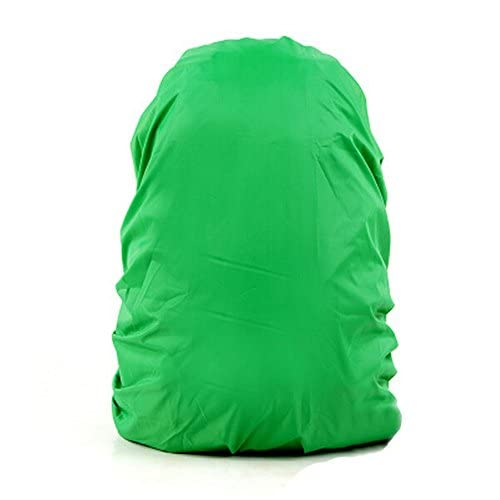 41qV871VQHL. SS500  - Set of 2 [GREEN] Camping/Hiking Twin-side Water-proof Backpack Rain Cover,45-55L