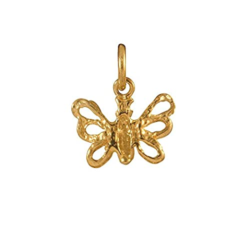 Sayers London 9ct Gold Butterfly Charm