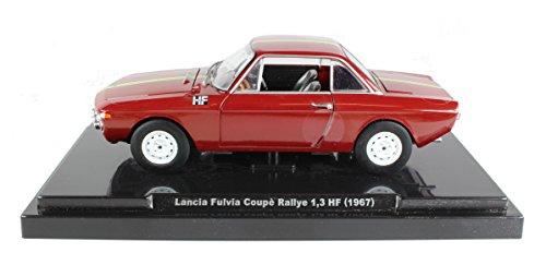 fabbri-editori-124-diecast-scale-model-lancia-fulvia-coupe-rallye-13-hf-1967-in-red