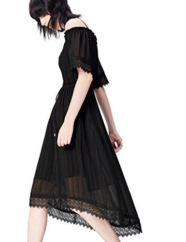 find. 13622 robes, Noir (Black), 40 (Taille Fabricant: Medium)